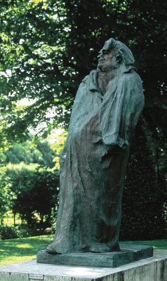 Auguste Rodin. Monument to Honore de Balzac