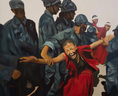 Alexandra Miller. We Want Freedom in Tibet