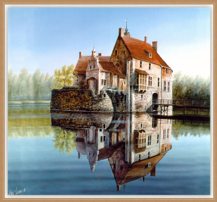 Carl Illini. The reflection in the water