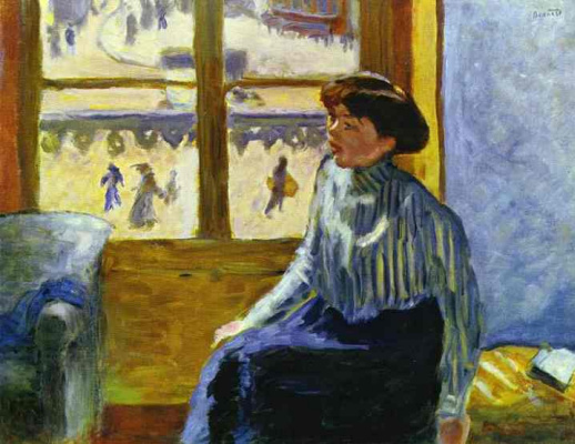 Pierre Bonnard. Woman at the window