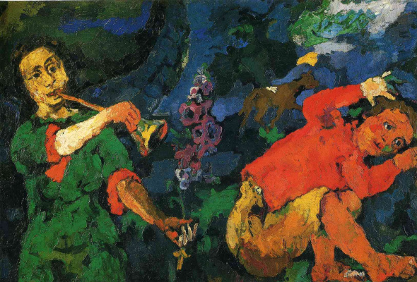 Oskar Kokoschka. The power of music