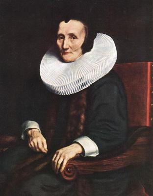 Николас Мас. Портрет Маргарет де Гир