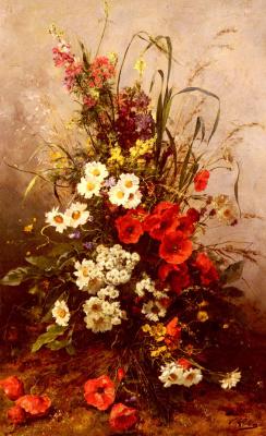 Виктор Леклер. Полевые цветы