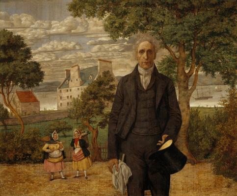 Ричард Дадд. Portrait of Sir Alexander Morrison, a psychiatrist