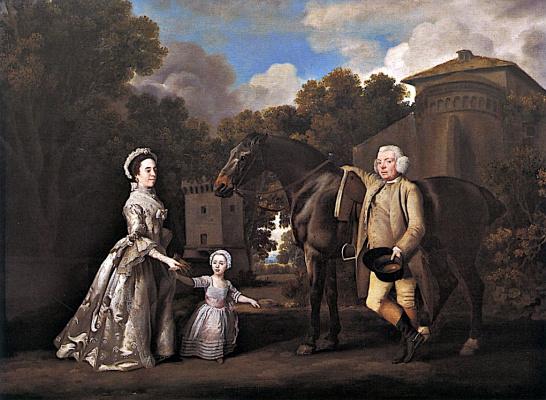 George Stubbs. Family Saltonstall