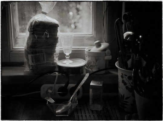 Evgeniy Borisovich Grigoriev. Kitchen window