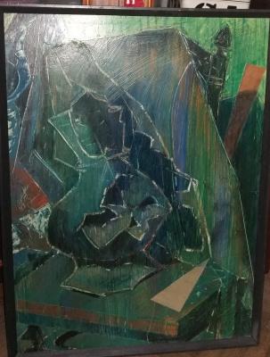 Nikolay Zverev. Still Life with a Green Jug