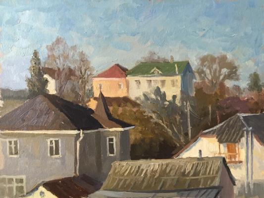 "Artur Petrovich Yatsenko. ""Country houses"""