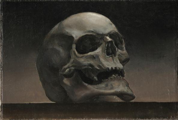 Sergius Leiman. Skull Study