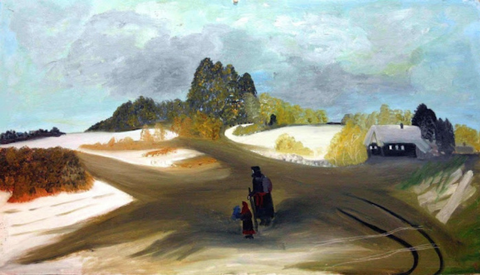 Love Mikhailovna Maikova. The road to the temple