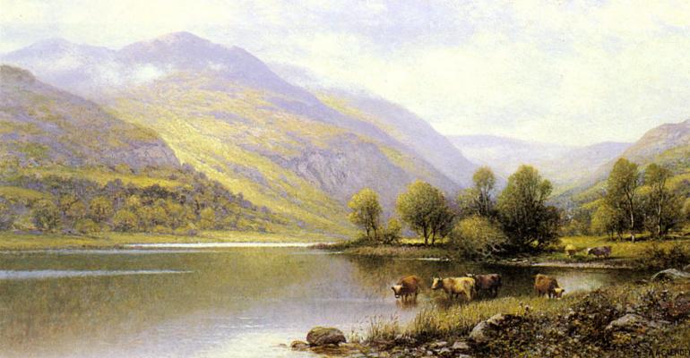 Альфред Гленденинг. Северный Уэльс