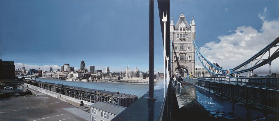 Ричард Эстес. Лондон. Мост Тауэр