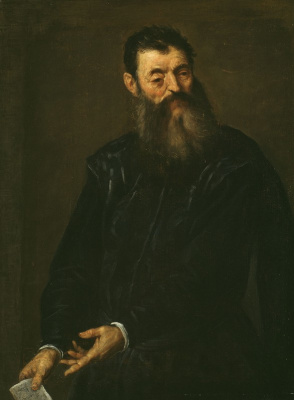 Джакомо Пальма Младший. Портрет мужчины