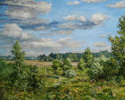 Victor Vladimirovich Kuryanov. The feeling of autumn
