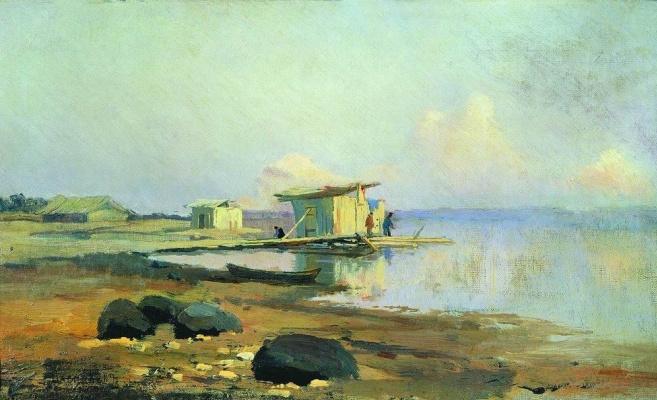 Fedor Alexandrovich Vasilyev. Shore. Calm