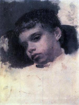 Valentin Aleksandrovich Serov. Kolya Simonovich