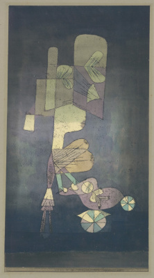 Paul Klee. Girl with Doll Carriage