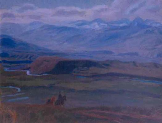 Кубанычбек Аманкожоев. Долина