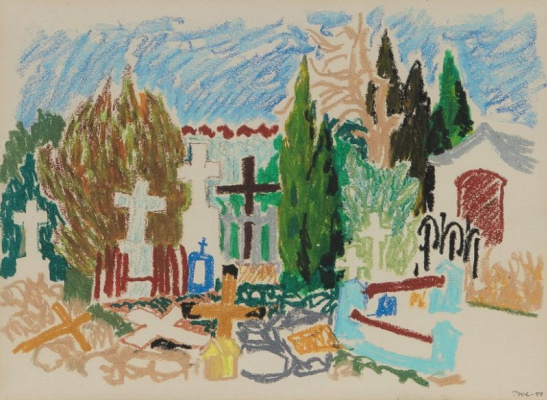 Tove Jansson. Cemetery