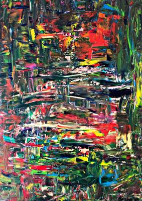 "Victoria Serova. 50x70 ""jungle"""
