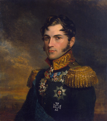 George Dow. Portrait of Leopold, Prince of Saxe-Coburg