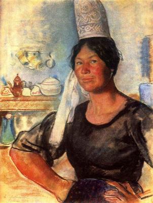 Zinaida Serebryakova. A Breton