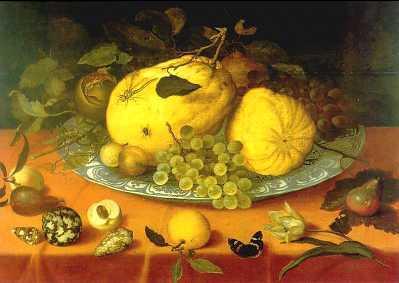 Бальтазар ван дер Аст. Блюдо с фруктами