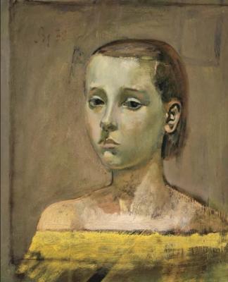 Balthus (Balthasar Klossovsky de Rola). Portrait of Theresa