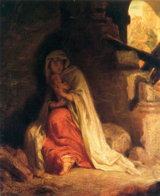 Pál Szinyei Merse. Violence in Bethlehem