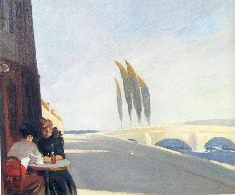 Edward Hopper. Lunch