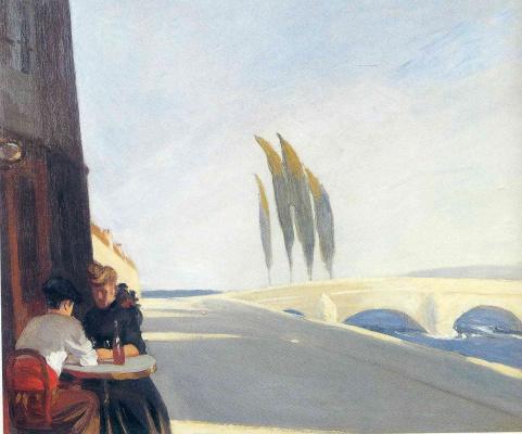 Edward Hopper. Lunch