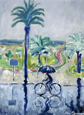 Kees Van Dongen. Cannes in the rain