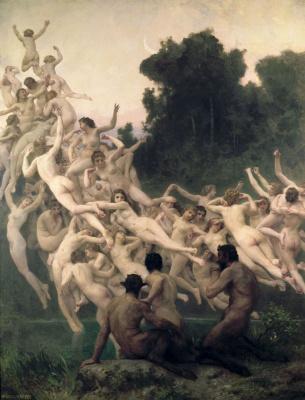William-Adolphe Bouguereau. Oread