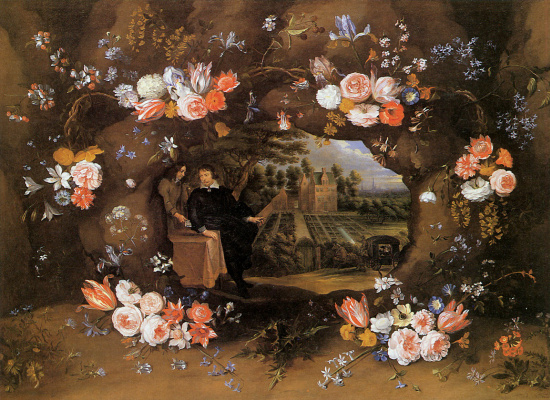 Jan Bruegel The Elder. Delicate flowers