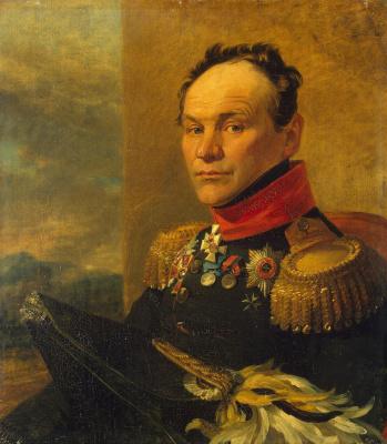 George Dow. Portrait Of Alexander Ivanovich Tsvilenev