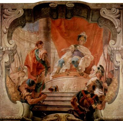 Джованни Баттиста Тьеполо. Scipio and the slave
