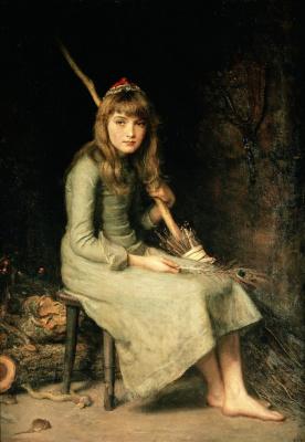 John Everett Millais. Cinderella