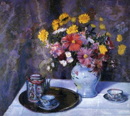 Констанс Стюарт Ларраб. Букет цветов