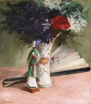 Eva Gonzalez. Bouquet of violets