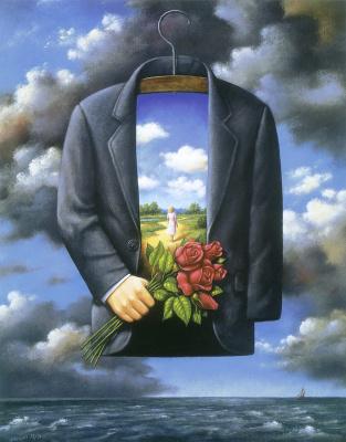 Rafal Olbinski. Exhibition of paintings