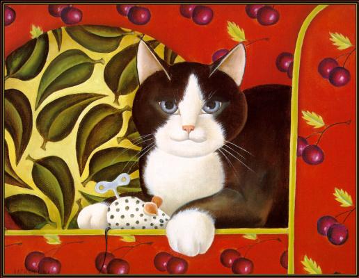 Диана Джексон. Игривый кот
