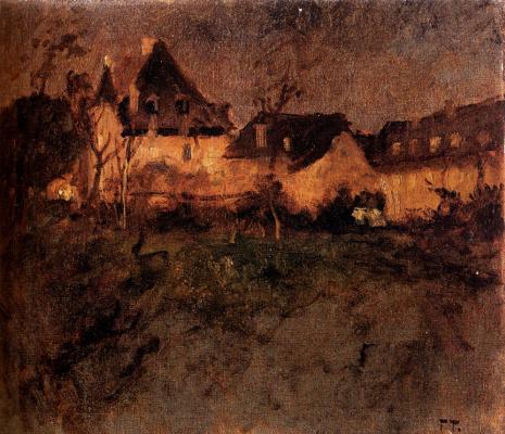 Frits Thaulow. Twilight