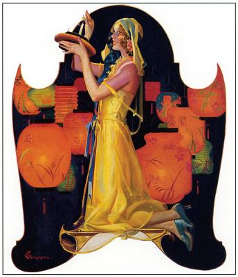 Элберт Макгран Джексон. Девушка в желтом платье