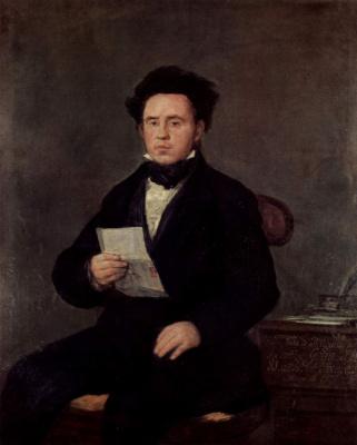 Francisco Goya. Juan Bautista de Muguiro