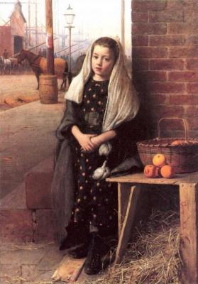 Сеймур Жозеф Ги. Маленькая продавщица апельсинов
