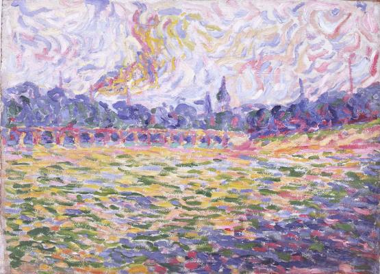 Erich Heckel. The Elbe River
