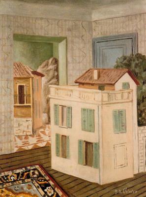 Giorgio de Chirico. House in the house