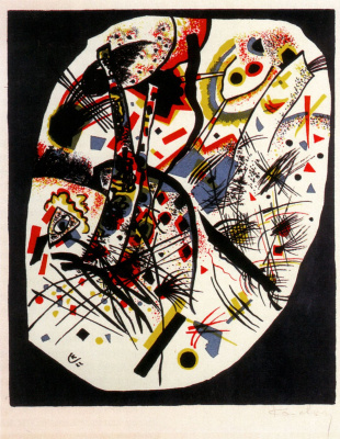Wassily Kandinsky. Small worlds III
