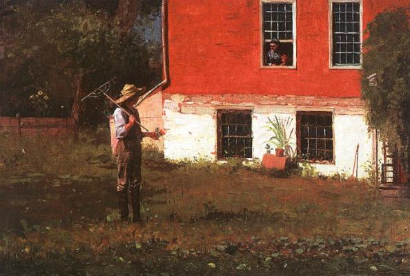 Winslow Homer. The peasants