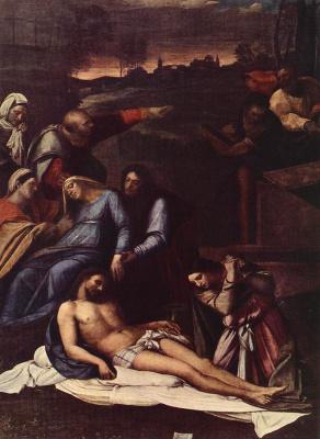 Себастьяно дель Пьомбо. Снятие с креста